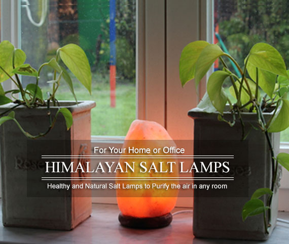 Himalayan Salt Lamps - Healthy Natural Salt Lamps to Purify the air