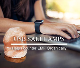 USB Natural Salt Lamps to help counter EMF Organically