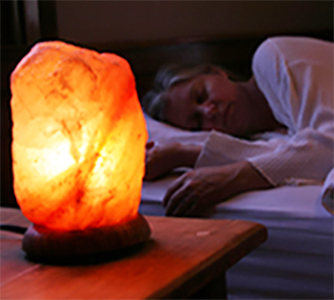 The Calming effect of Himalayan Salt Lamps